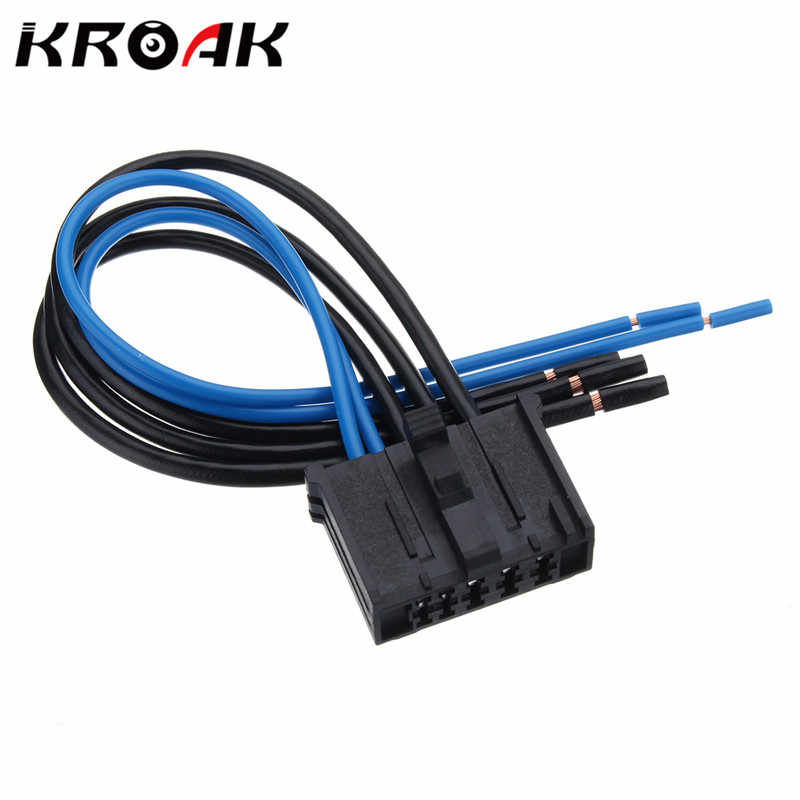 detail feedback questions about kroak heater blower motor resistor wiring  loom harness connector for peugeot 206 307 on aliexpress com | alibaba group