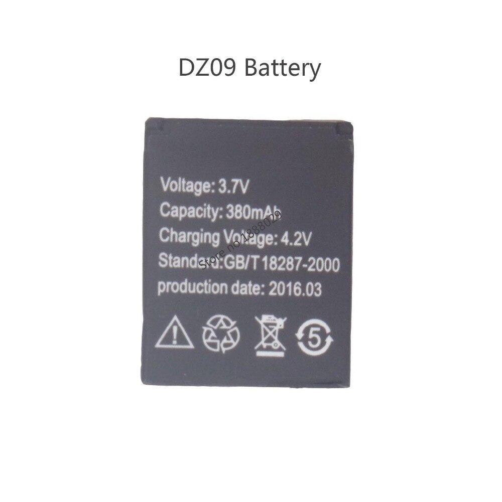 Marke Neue Ersatz Batterie für Smart Uhr DZ09, 380 mah Wiederaufladbare Lithium-Polymer Ersatzakku für Intelligente Uhren DZ09