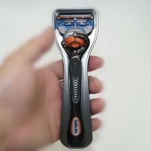 Nowy do maszynki do golenia pudełko na podróż ze stopu aluminium Metal maszynki do golenia przypadku przeciwpoślizgowe instrukcji Shaver uchwyt pakiet (maszynki do golenia nie jest wliczony w cenę) tanie tanio YINTAL Mężczyzna aluminum alloy BODY Face Pod pachami TR56 Brak Razor 2019 5 31