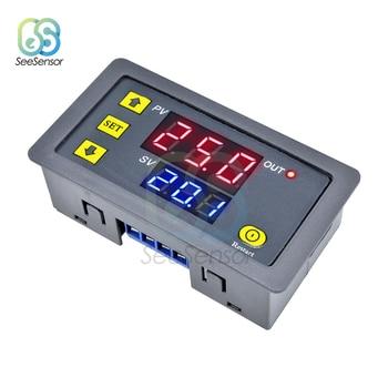 цена на AC 110V 220V Digital Time Delay Relay LED Display Cycle Timer Control Switch Adjustable Timing Relay Time Delay Switch