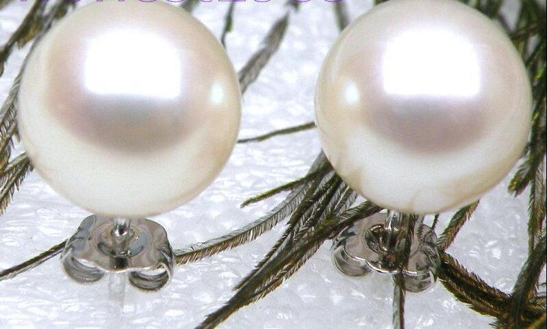 Livraison gratuite>>>> AAA + + + japonais Akoya perle de culture 9mm blanc boucles doreillesLivraison gratuite>>>> AAA + + + japonais Akoya perle de culture 9mm blanc boucles doreilles