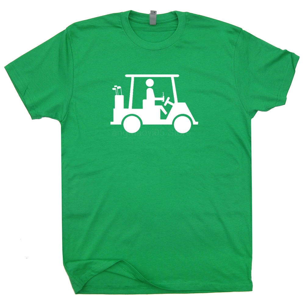 Funny Golf T Shirt Cool Golfing T Shirts Caddyshack Shirt Funny Movie Tee Fun T-Shirt Men's Print Casual 100% Cotton T-Shirt image