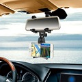 2016 Multifuncional Universal Espelho Retrovisor Do Carro Montar Titular Cradle Suporte Para Telefone Celular GPS iPhone