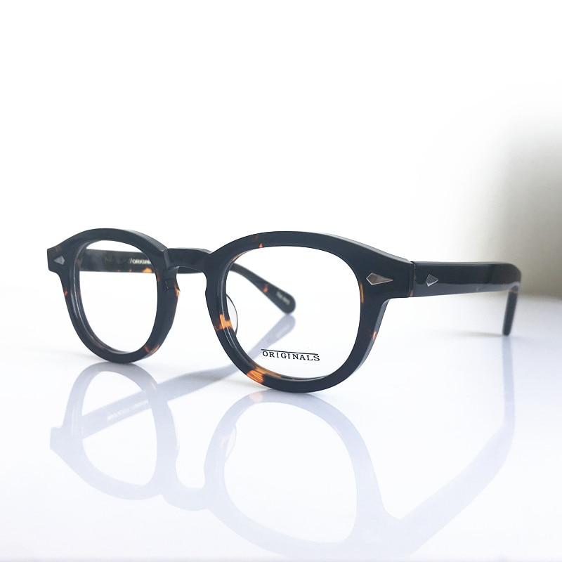 Vintage Tortoise Full Rim Eyeglass Frames Myopia Rx able Men Women ...