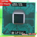 Free Shipping intel CPU laptop Core 2 Duo T5750 CPU 2M Cache/2.0GHz/667/Dual-Core Socket 479Laptop processor for GM45/PM45
