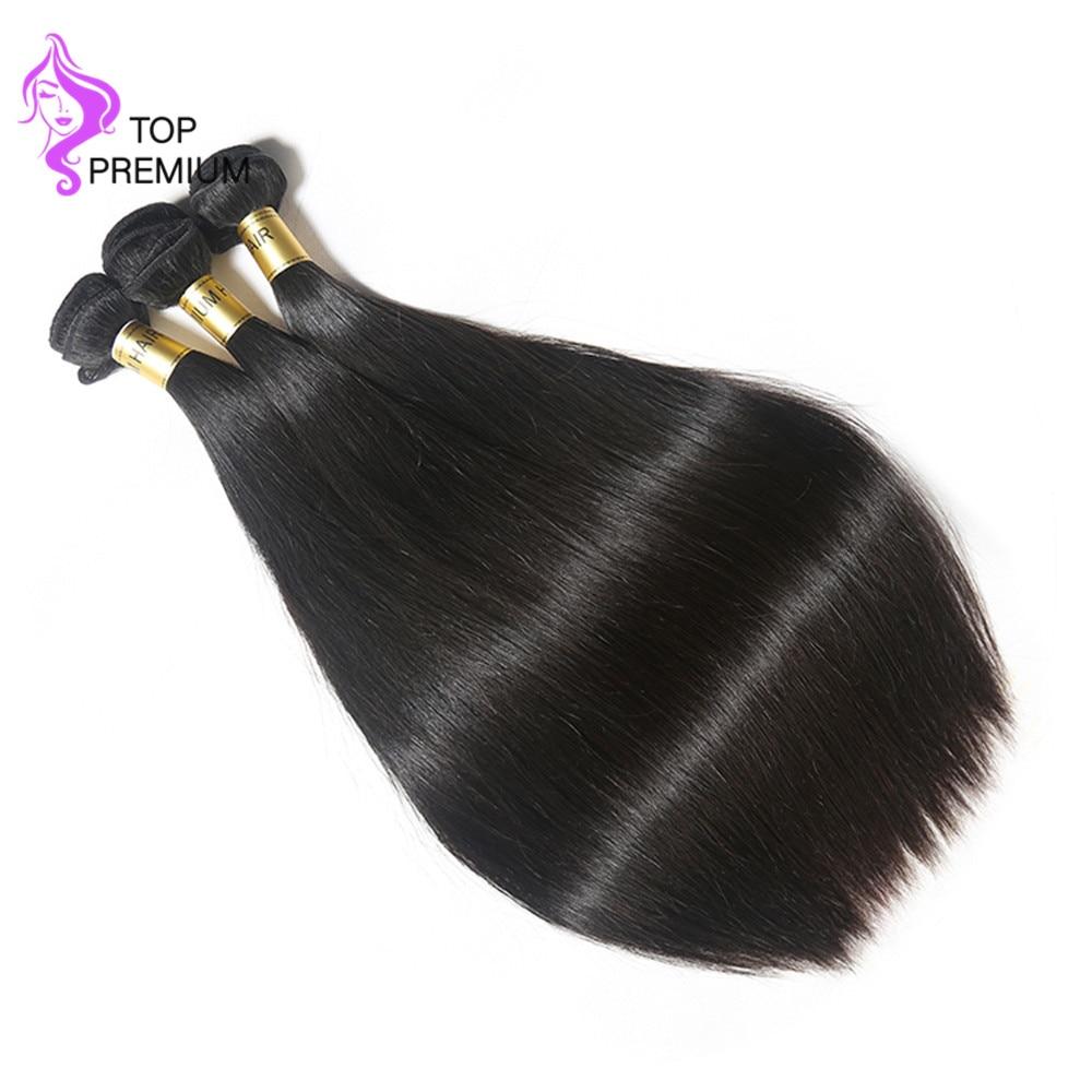 Top Premium Brazilian Virgin Hair Straight Hair Weaves Bundles