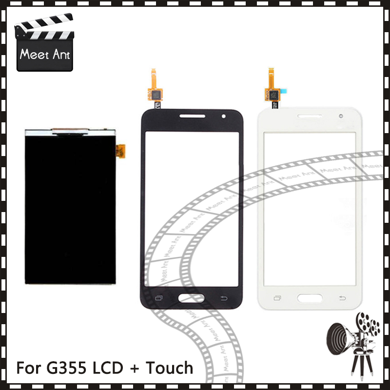 New High Quality 4.5'' For Samsung Core 2 SM-<font><b>G355H</b></font> G355M <font><b>G355H</b></font> G355 Lcd <font><b>Display</b></font> With Touch Screen Digitizer Sensor image