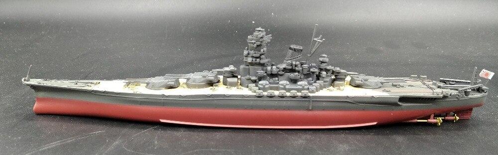 Value Fine Rare 1:1000 World War II Japan Musashi Battleship Alloy Collection Warship Model Finished Decoration