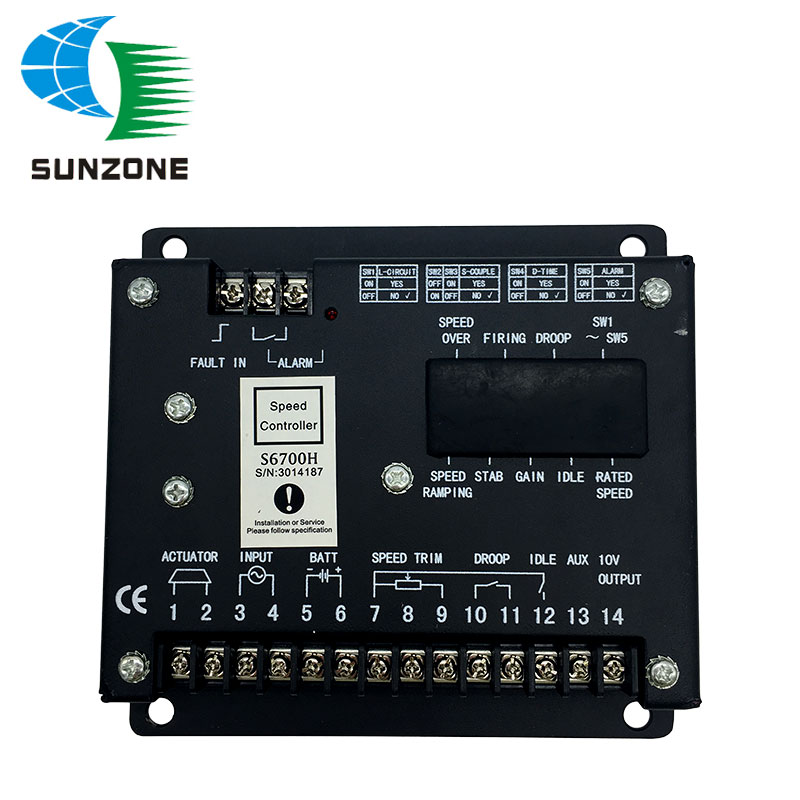 Free Shipping Speed Controller S6700H Speed Control Unit Generator Board