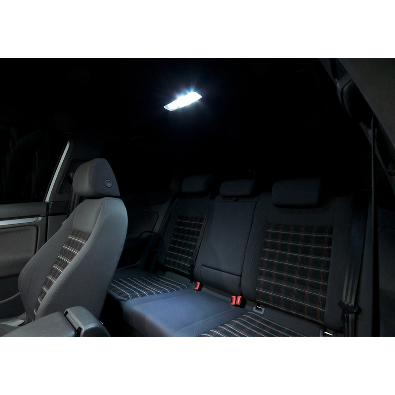 XIEYOU 11 ədəd, R32 üçün LED Canbus Daxili işıqlar dəsti - Avtomobil işıqları - Fotoqrafiya 4