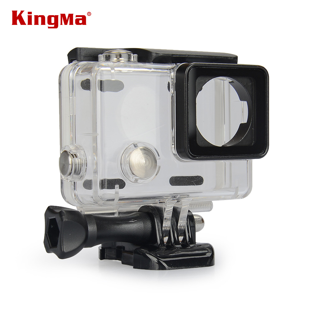 kingma 45m waterproof diving camera camcorder housing case for gopro hero 4 3 3 clearly free. Black Bedroom Furniture Sets. Home Design Ideas
