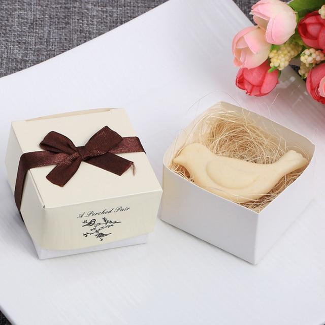 Mini Handmade Soap Cute Shape Small Boxed Soap Handmade Soap Unique Souvenir Scented Wedding Gift Party Supplies Skin Care TSLM1 4