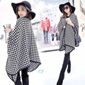 2016 Streamlined Blanket Coat Cashmere Multipurpose Splicing Cape Women's Shawl Star Show Coat Oversized Poncho Scarf Wraps JQ26