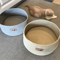 Cat Scratcher Recyclable Scratching Bed Nest Scratch Resistant