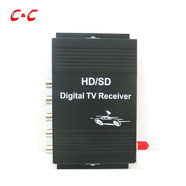 New! Car Mobile HD ISDB-T Digital TV Receiver Box