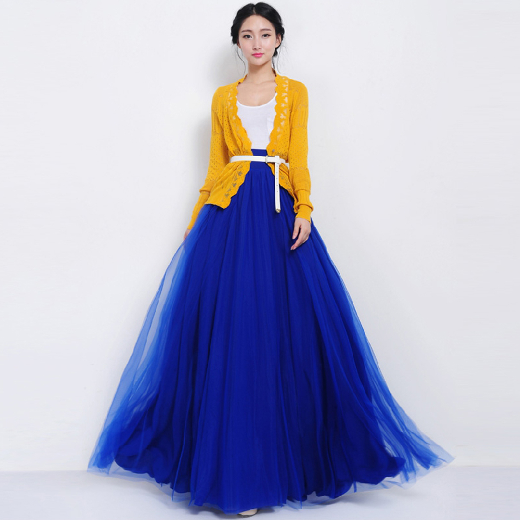 Online Get Cheap Bowknot Pleated Maxi Skirt -Aliexpress.com ...