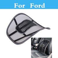Car Seat Cushion Lumbar Waist Back Support Pillow For Ford Fiesta Fiesta ST Five Hundred Flex Focus RS Focus ST Freestyle|back support pillow|lumbar support back pillow|car lumbar support pillow -