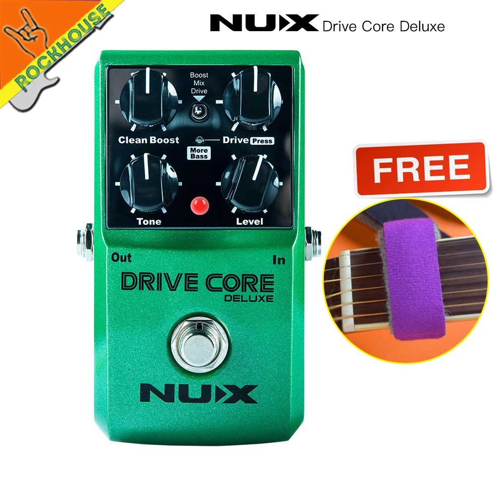 NUX Drive Core Deluxe Upgrade overdrive gitaar effect pedaal high - Muziekinstrumenten - Foto 1