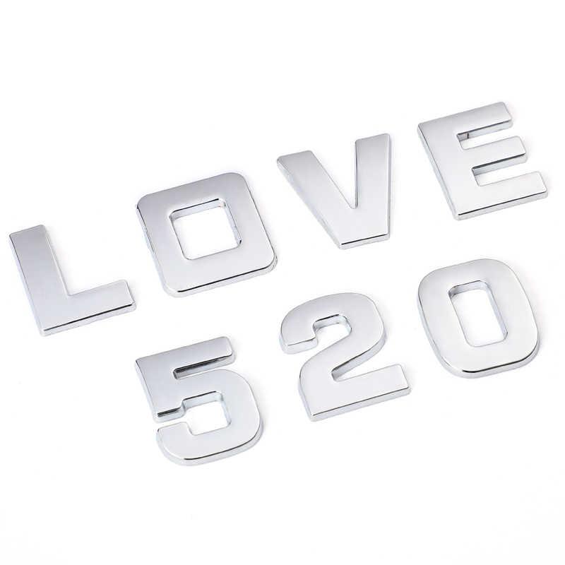 25mm 3D לוגו רכב מדבקות עבור BMW אאודי הונדה פולקסווגן מרצדס סקודה פורד Peugeot טויוטה אופל מאזדה מושב וולוו סובארו מדבקה