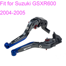 KODASKIN Left and Right  Folding Extendable Brake Clutch Levers for Suzuki GSXR600 2004-2005