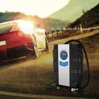 Nuovo Arrivo 12 V Car Auto Pompa Elettrica del Compressore D'aria del Gonfiatore della gomma Dei Pneumatici di Automobile Torcia Elettrica Display Numerico Versatile Pompa