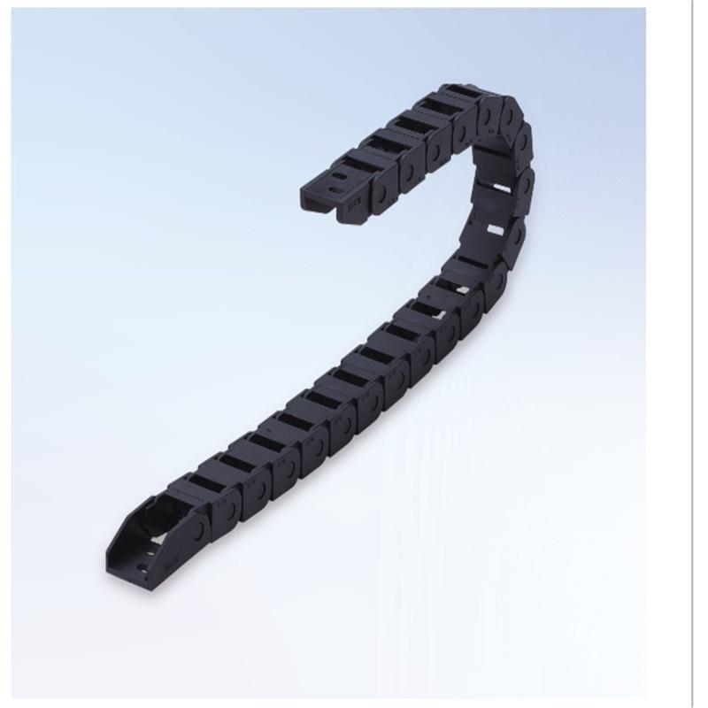Hardware DemüTigen Kabel Ketten 10x20 10x15 10x10mm Brücke Typ Nicht-Öffnung Kunststoff-schleppleine Übertragung Drag Kette Für Maschine Jade Weiß