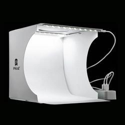 Мини складной лайтбокс фотография Фотостудия софтбокс 2 Светодиодная панель Мягкая коробка фото Набор для фона световая коробка для DSLR