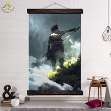 Naruto Anime Single Framed Scroll Painting Modern Canvas Art Prints Poster Wall  Artwork Pictures Home Decor