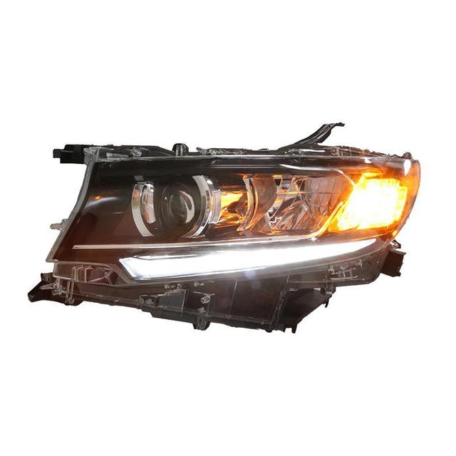 Lamp Drl Daytime Running Assembly Luces Led Para Auto Assessoires Car Lighting Headlights Rear Lights For Toyota Prado