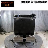 TIPTOP Large Flame Projector DMX512 Control kerosene+nitrogen Gas Tank/Effect Fire Machine Controller Road Case Pack High Fire