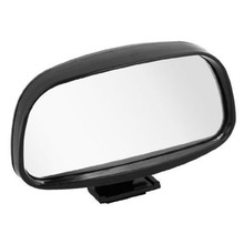 Vehicle Car Adjustable Wide Angle Arch Shaped Blind Spot Mirror Black