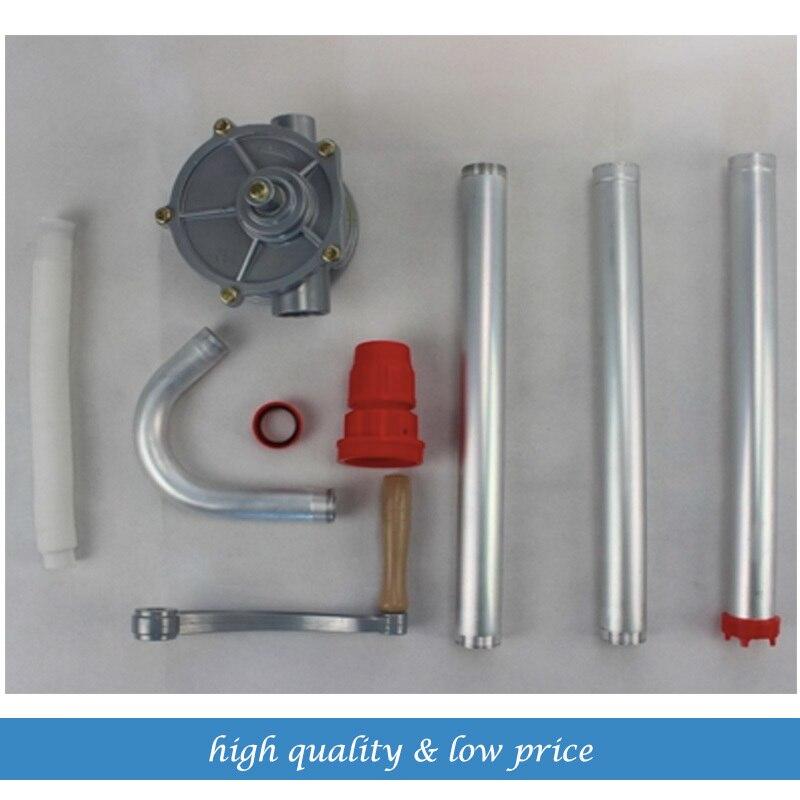 9.19 main rotatif gazole pompe à essence distributeur tambour réservoir Commercial transfert Diesel