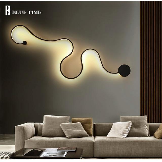 New modern minimalist creative wall lamp Lights led bedside wall lamp bedroom lamp aisle corridor hotel wall lamp light