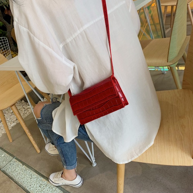 Mini Stone Pattern Crossbody Bags  2