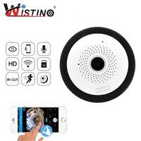 Wistino WIFI IP Camera Fisheye 960P Panoramic Baby Monitor Wireless Mini 360 Degree CCTV Camera 3D