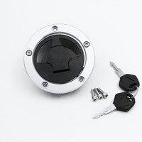 Fuel Gas Tank Cap Cover Lock Key Fit for Kawasaki Ninja ZX6R ZX 6R ZX 600 636 2007 2015 08 09 10 11 12 13 14