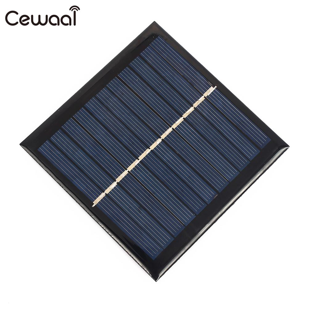 1W 5.5V Solar Panel DIY 1W 5.5V Solar Cell Panel Battery Charger Solar Charging Polysilicon Mini Battery DIY Toy
