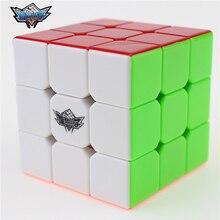 3x3x3 Циклон Мальчики Magic Cube Puzzle Кубы Скорость Cubo Квадрат Головоломка Нет Наклейки Радуга Подарки Образовательные игрушки для Детей