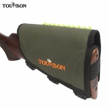 Tourbon Butt Stock Padded Tactical Adjustable Hunting Rifle Cheek Rest