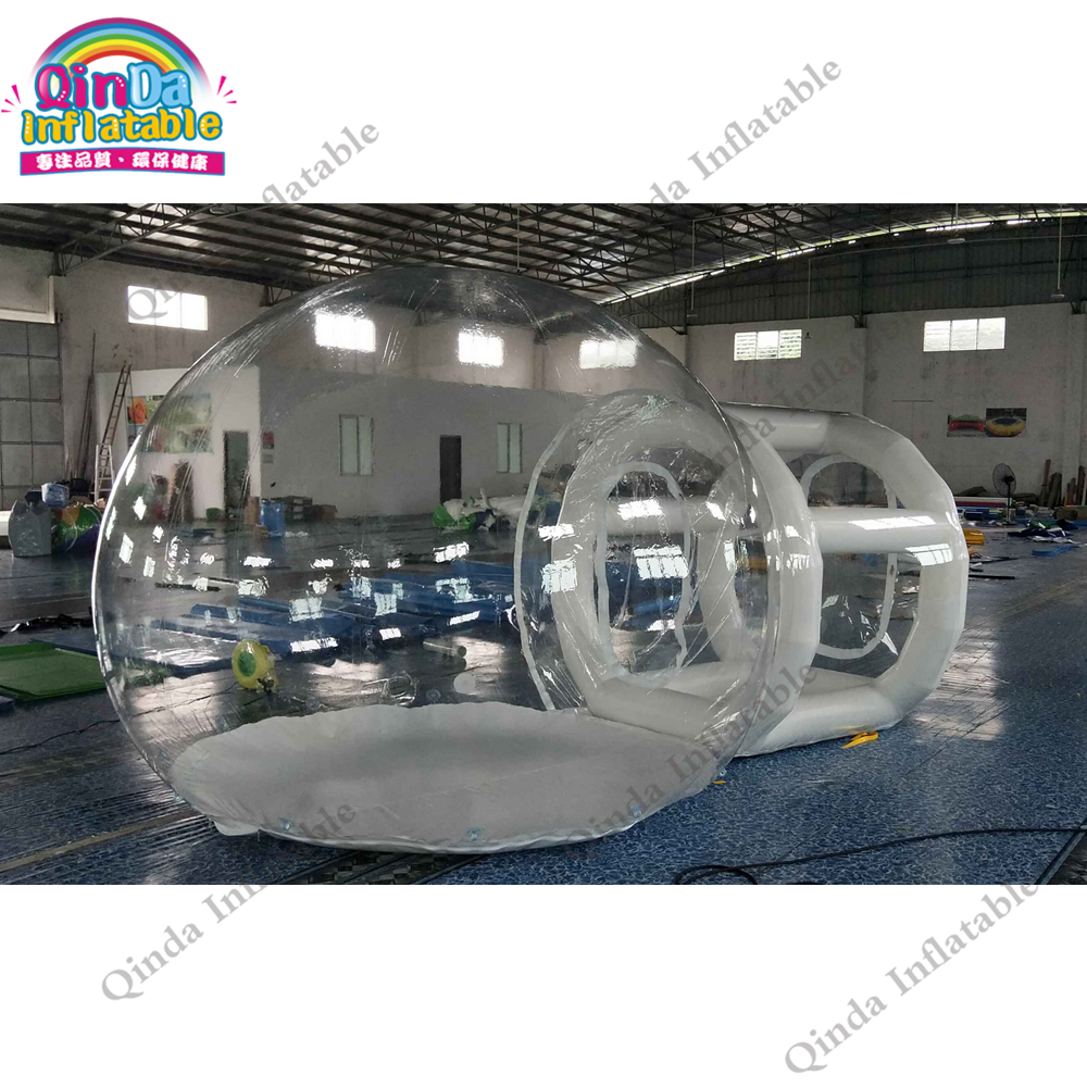 Transparent PVC inflatable dome camping tent 3m inflatable bubble lodge tent with 2m trance frame tubeTransparent PVC inflatable dome camping tent 3m inflatable bubble lodge tent with 2m trance frame tube