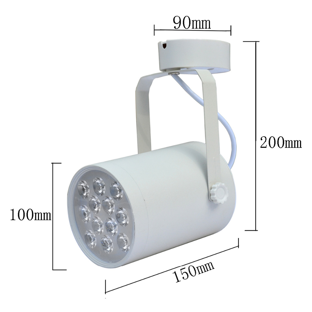 Free shipping led track light 12w replace to 120w halogen bulb free shipping led track light 12w replace to 120w halogen bulb commercial lighting rail lamp ac 85 265v in track lighting from lights lighting on mozeypictures Choice Image