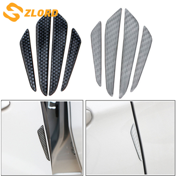 Zlord Car Door Scuff Sticker Cars Bumper Strips Sticker for Subaru XV Forester Outback Legacy Impreza BRZ for Honda Fit HRV image
