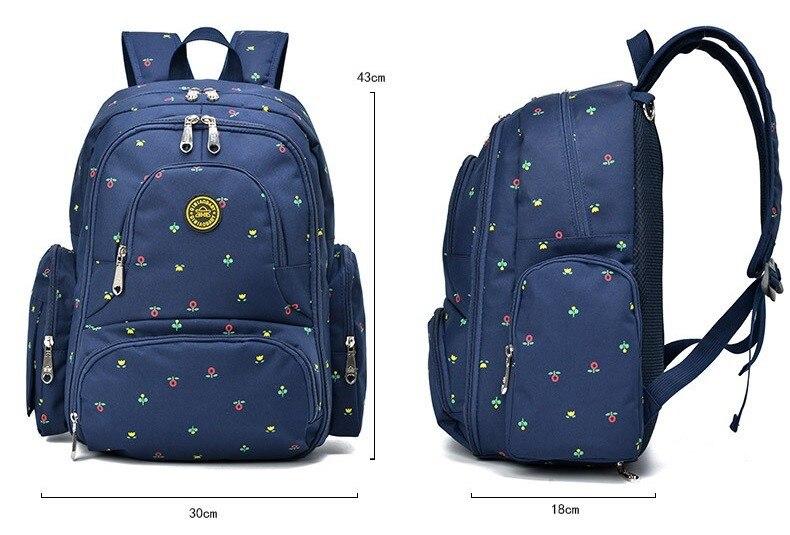 Nagyteljesítményű anyasági hátizsák Nappy pelenka hátizsákok - Pelenkák és WC képzés - Fénykép 2