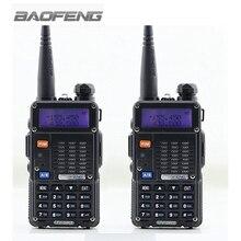 2 шт. BAOFENG УФ-5RT Рация Черный 128 Каналов Памяти Dual Band VHF/UHF 136-174/400-520 МГц Хэм Двухстороннее Радио