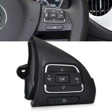 DWCX 5C0959538B Правая Сторона Многофункциональный Руль MFSW Кнопки Управления Переключатель Для VW Jetta Golf MK6 CC Passat Caddy Tiguan