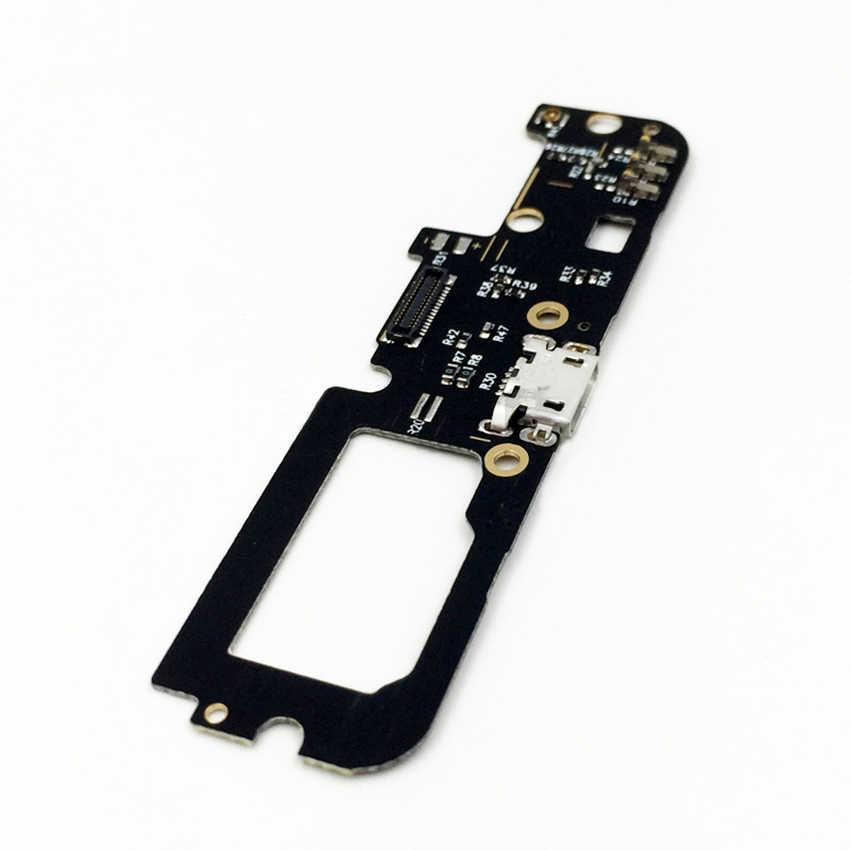 New For Lenovo K5 Note K52e78 A7020 USB Charging Port Dock Connector Jack Charge Board With Microphone Mic Flex Cable