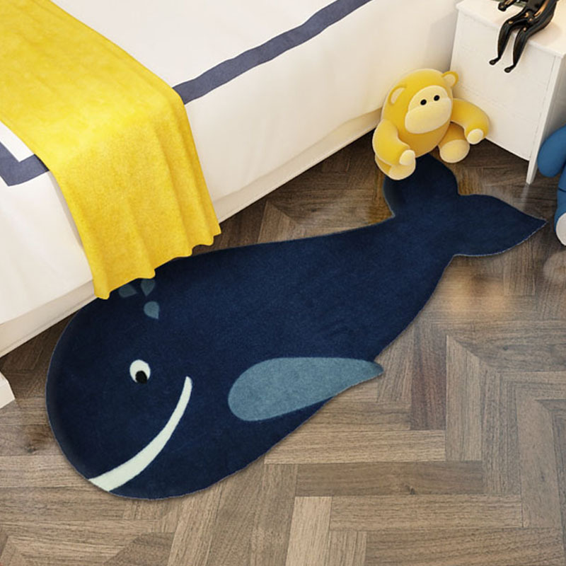 Cute Whale Shape Carpets Nordic Style Carpets For Living Room Bedroom Home Decoration Kids Play Floor Mat RugsCute Whale Shape Carpets Nordic Style Carpets For Living Room Bedroom Home Decoration Kids Play Floor Mat Rugs