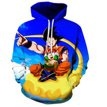 Dragon Ball Hoodies Men Women 3D Hoodie 7Dragon Sweatshirts Anime Fashion Casual  Tracksuits Hooded Pullover Outer coat