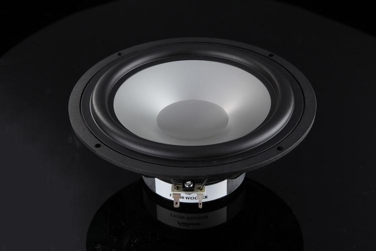 H-009 Fountek FW200 circular Aluminum cone Full Range 8 inch HIFI Speaker / Aluminum bass voice amplifier speaker h 019 fountek fr88ex full range 3 inch hifi speaker amplifier speaker hot sale 84 3db 1w 1m