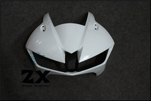 Полный Обтекатели для верхних передних головного Обтекателя Клобук нос обтекатель для Honda CBR600RR инъекция 2013 2014 2015 неокрашенный